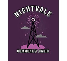Welcome To Nightvale Radio Photographic Print