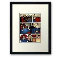 HSC Major Work Director's Cut Page 1 Framed Print