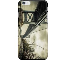 Crossing the River iPhone Case/Skin
