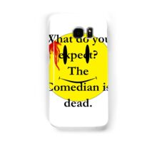 Watchmen, the comedian is dead Samsung Galaxy Case/Skin