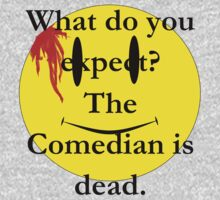 Watchmen, the comedian is dead by Buxbunny