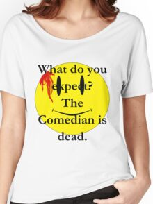 Watchmen, the comedian is dead Women's Relaxed Fit T-Shirt