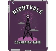 Welcome To Nightvale Radio iPad Case/Skin