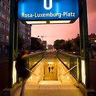 Berlin U-Bahn by Aaron Corr