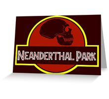 Neanderthal Park Greeting Card