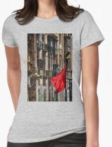 Aħmar Womens Fitted T-Shirt