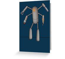 Fugitive Robot Greeting Card