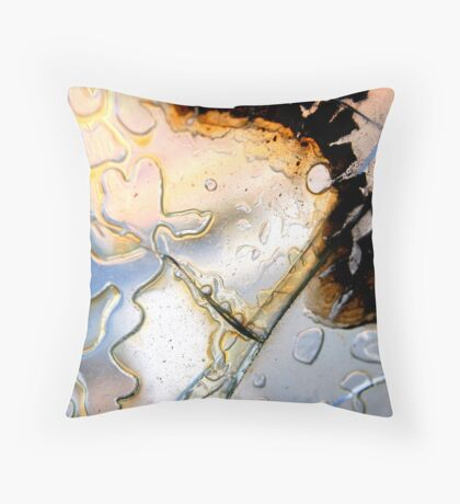 Liquidity Throw Pillow