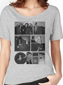 Comic Page Tee 1.01 Women's Relaxed Fit T-Shirt