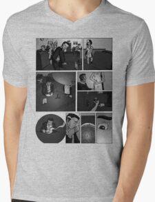 Comic Page Tee 1.01 Mens V-Neck T-Shirt
