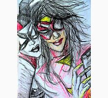 Harley Quinn with Spider Woman Unisex T-Shirt