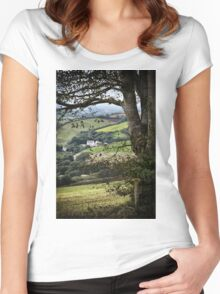 Beneath The Bough Women's Fitted Scoop T-Shirt
