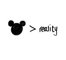 disney>reality by kklile12