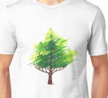 Fantasy Art Deco Tree Unisex T-Shirt