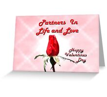 Partners Greeting Card