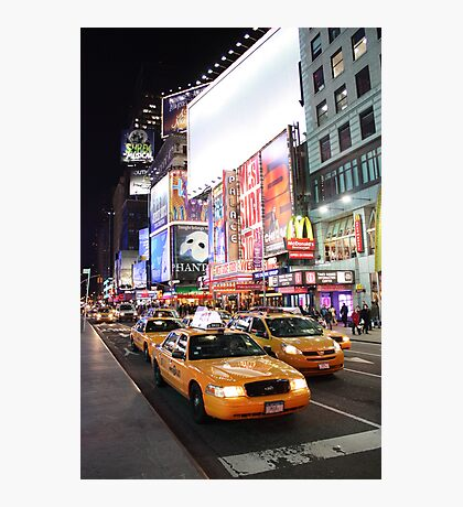 Time square madness Photographic Print