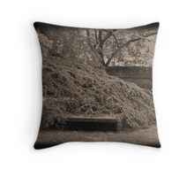 Silently Sheltered Throw Pillow