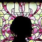 Stained Glass Silhouette  by RodriguezArts