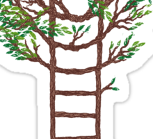 Ladder Tree Sticker