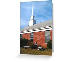 North Carolina Church Greeting Card