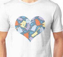 funny cartoon cats  Unisex T-Shirt