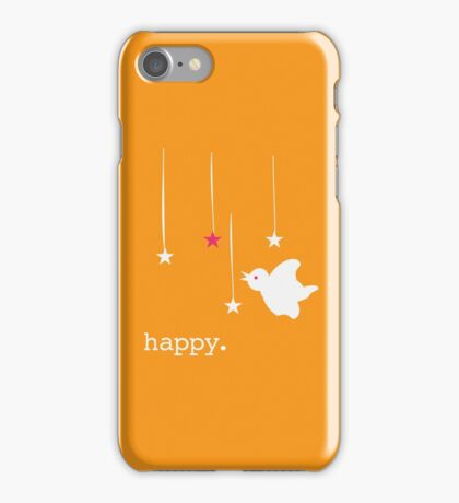 Happy bird iPhone Case/Skin