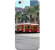 New Orleans Street Cars iPhone Case/Skin