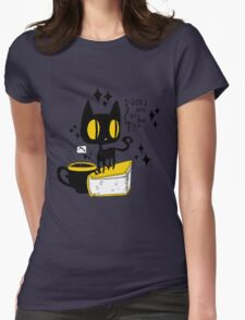 Books and Cats and Tea T-Shirt