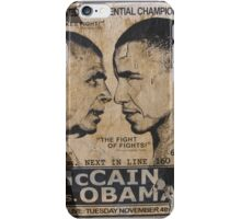 presidential championship faded poster iPhone Case/Skin