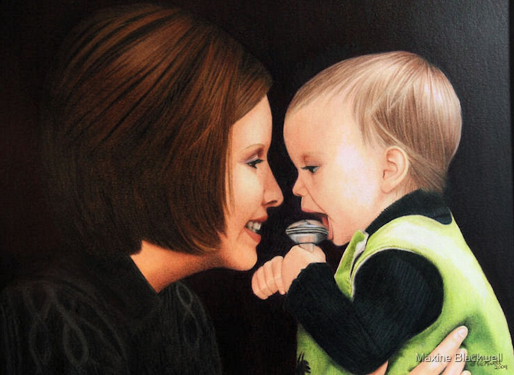 -Mother & Child- by Maxine Blackwell