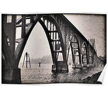Oregon Bridge Poster