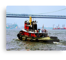 Tugboat at Penn's Landing, PA Metal Print