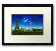 Ruins of Kal Tarai Framed Print
