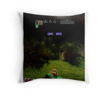 Link - Game Over Throw Pillow