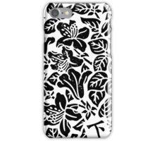 Monochrome Garden iPhone Case/Skin