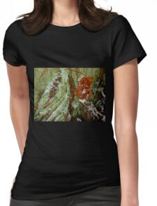 Snow In The Rainforest Womens Fitted T-Shirt