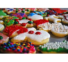 Southwest Iowa Christmas Cookies Photographic Print