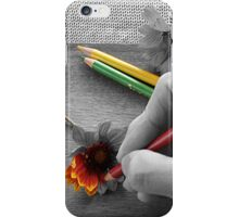 Staying Inside the Lines iPhone Case/Skin