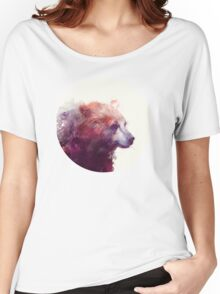 Bear // Calm Women's Relaxed Fit T-Shirt