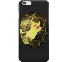 Thunderous Pikachu iPhone Case/Skin