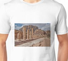 nabatean city Petra, Cardo Maximus Unisex T-Shirt