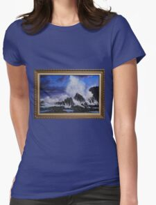 SEA SPRAY Womens Fitted T-Shirt
