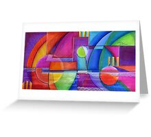 Clear Sailing, (psychedelic) Greeting Card