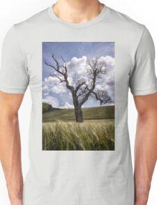 Dead Tree Dancing In A Cornfield Unisex T-Shirt