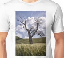 Dead Tree Dancing In A Cornfield Unisex T-Shirt