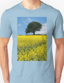 Sunshine Growing At The Roots Of A Tree Unisex T-Shirt