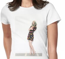 to Cindy Sherman Womens Fitted T-Shirt
