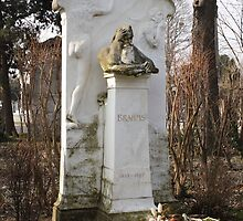 Grave Of Johannes Brahms by Mythos57