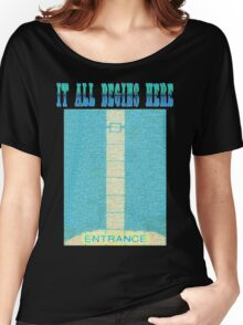 It All Begins Here Women's Relaxed Fit T-Shirt