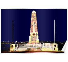 Memorial , Perth Western Australia Poster